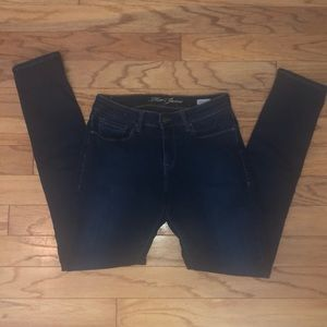MAVI Alexa jeans Mid-Rise Skinny Dark wash 27 EUC